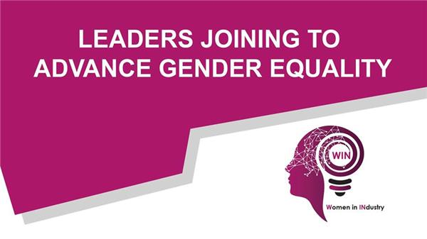 Women in INdustry - Leaders joining to advance gender equality