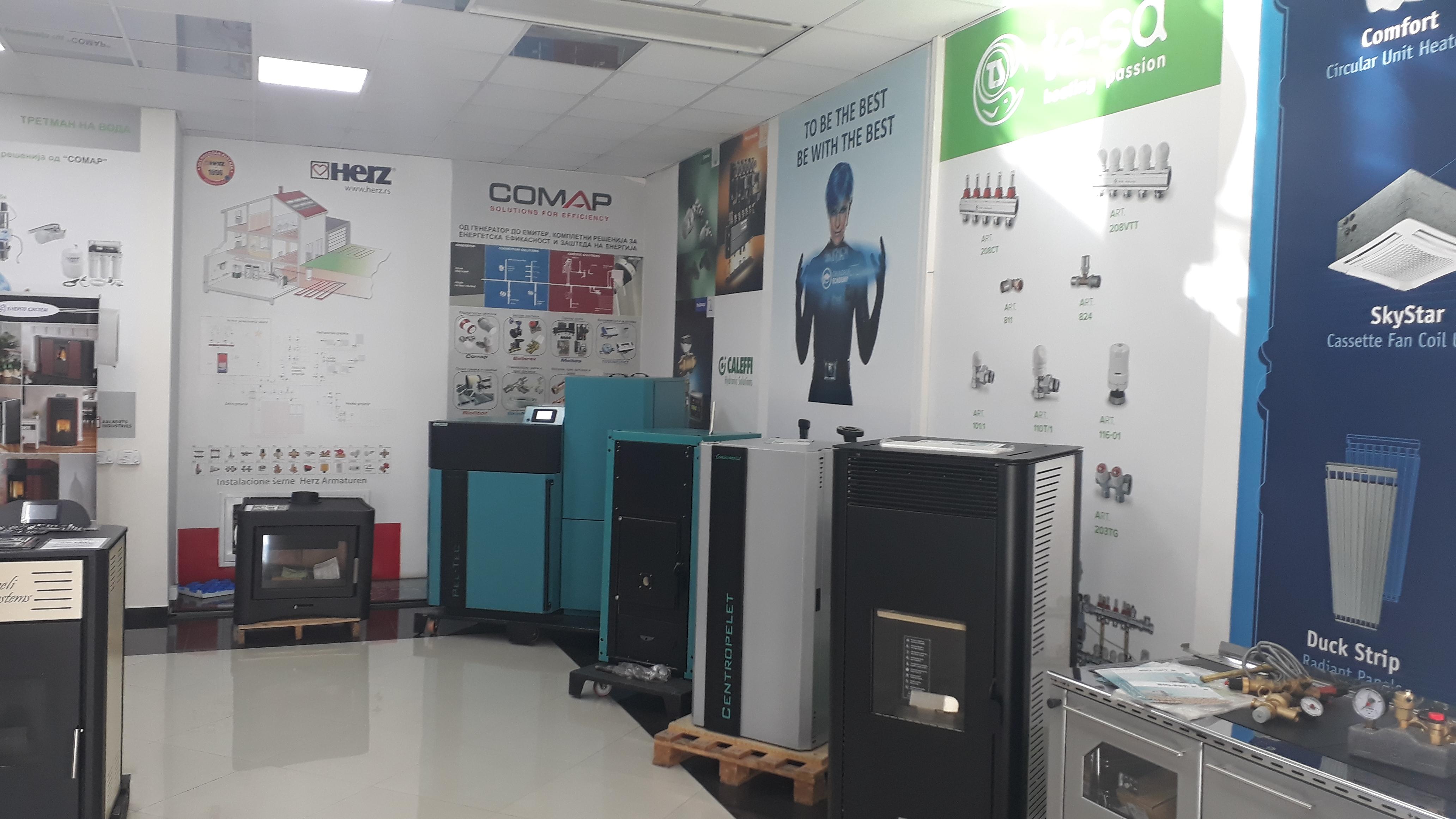 ЕНЕРГО СИСТЕМ  - лидер на пазарот за HVAC системи во дрзавава