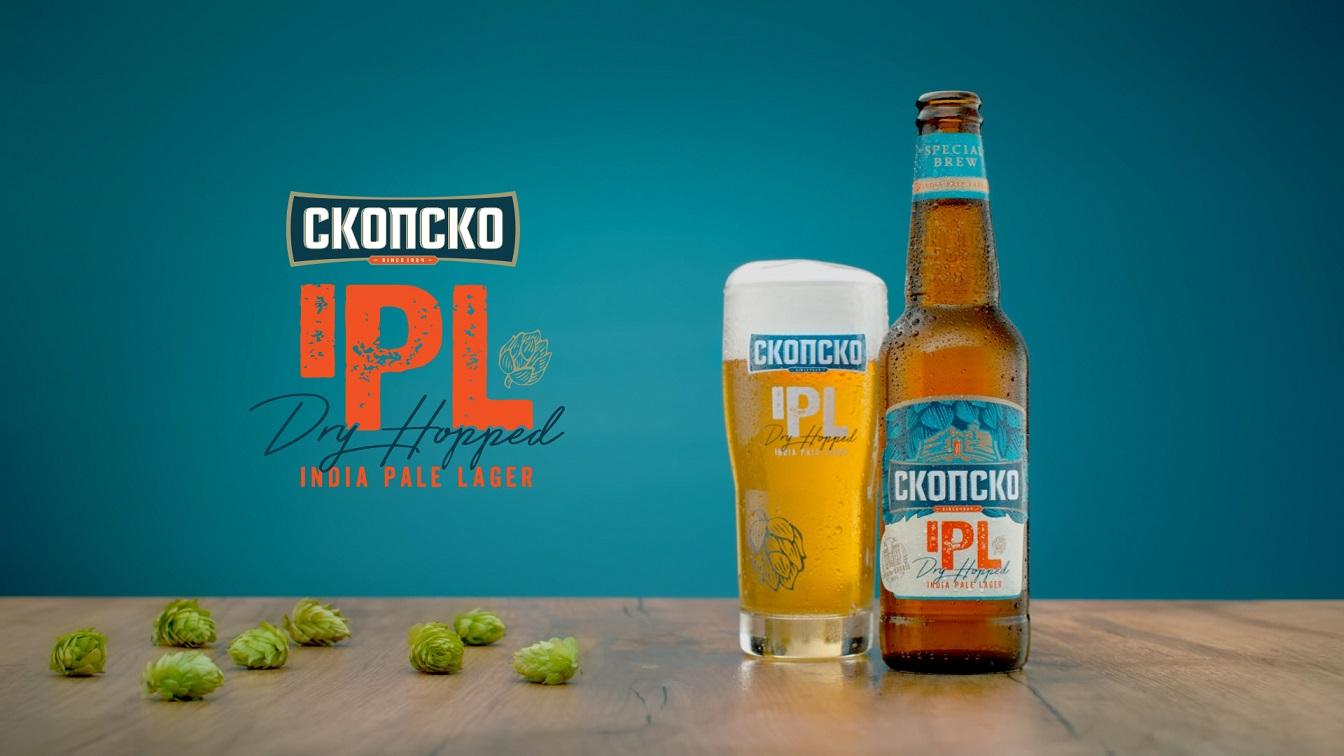 """Пристигнува """"СКОПСКО IPL"""" – првото крафт пиво од Пивара Скопје"""