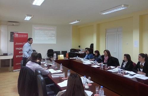 Регионалната комора со седиште во Кавадарци одржа семинар за даночното право - ОБУКА ЗА ПРАВИЛНОТО УТВРДУВАЊЕ, ПРЕСМЕТУВАЊЕ И ПЛАЌАЊЕ НА ДАНОЦИТЕ