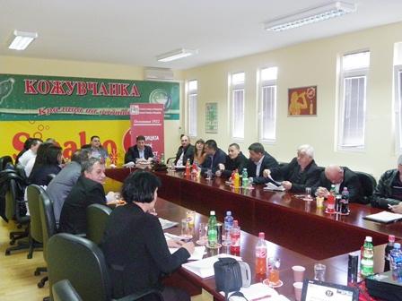 Регионалната комора со седиште во Кавадарци ја усвои Програмата за работа за 2013 година - ПРЕДЛОЗИ И ИНИЦИЈАТИВИ ЗА ПОДОБРУВАЊЕ НА БИЗНИС-КЛИМАТА НА ЛОКАЛНО НИВО