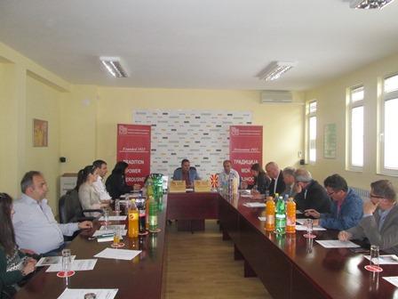 Регионална комора со седиште во Кавадарци и Регионална комора  со седиште во Кичево -  ИНТЕНЗИВИРАЊЕ НА ДЕЛОВНАТА СОРАБОТКА