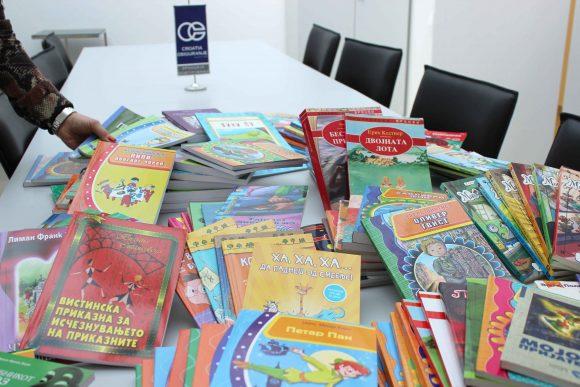 Кроација осигурување започнува акција за збогатување на книжевниот фонд на училишните библиотеки