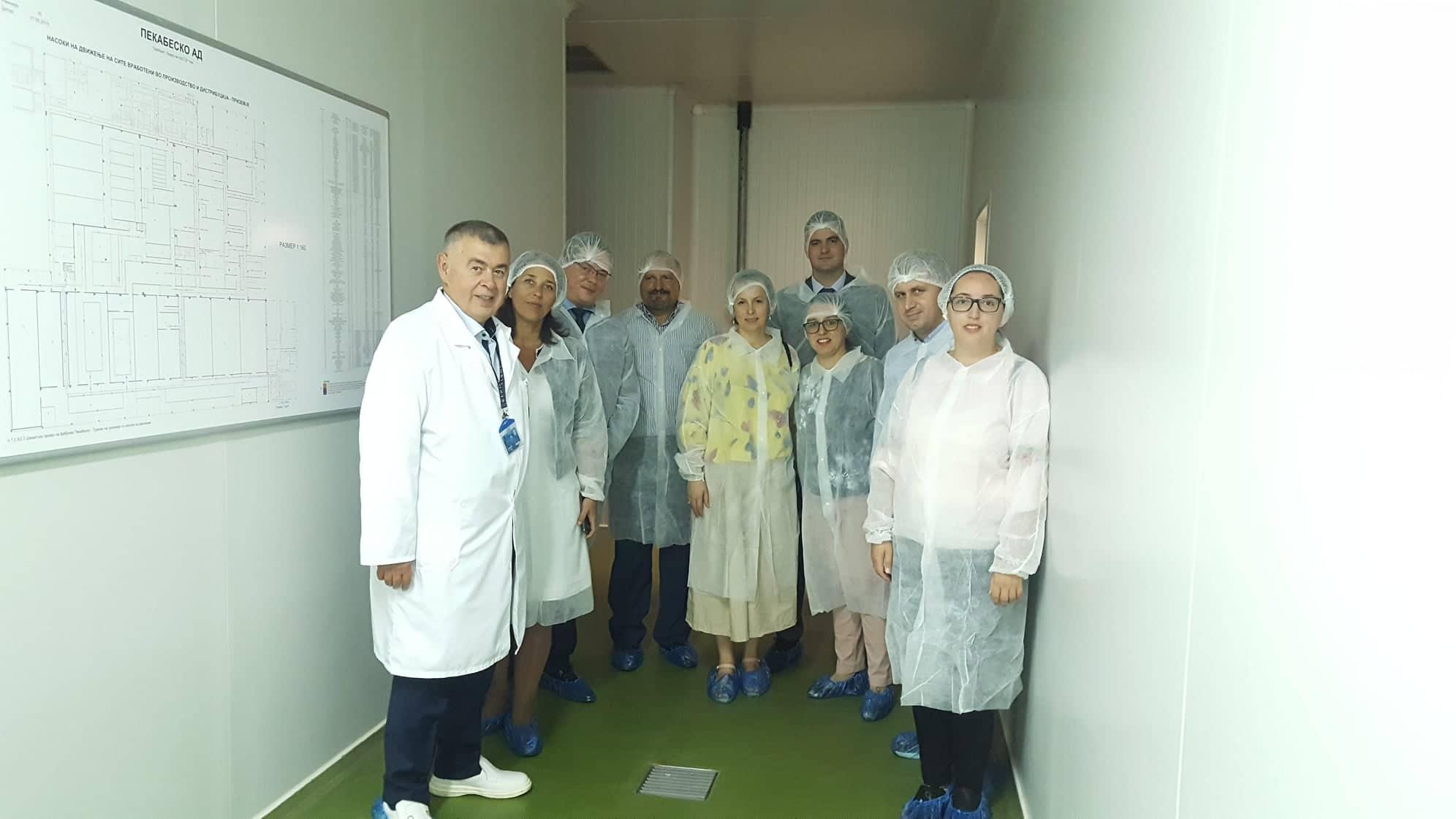 "КИФ во посета на ""Пекабеско"""