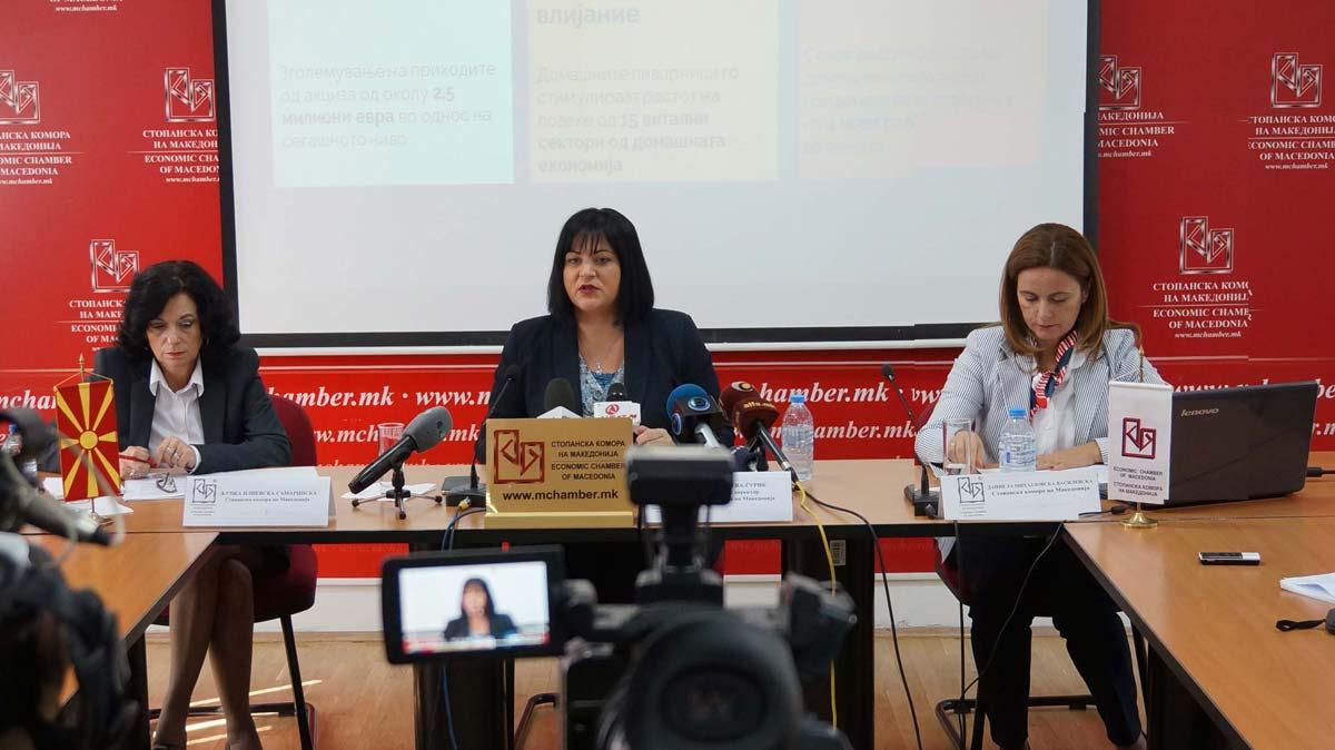 Прес-конференција на Стопанската комора на Македонија – ОЧЕКУВАНИ ПОЗИТИВНИ ЕФЕКТИ ОД НАДМИНУВАЊЕТО НА КЛУЧНИТЕ ПРИЧИНИ ЗА ПАДОТ НА ИНДУСТРИЈАТА ЗА ПРОИЗВОДСТВО НА ПИВО