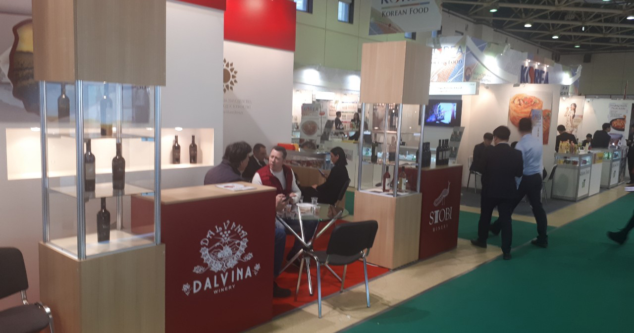 """ПЛУСИНФО: Македонски вина и храна на саемот """"Продекспо 2019"""" во Москва"""