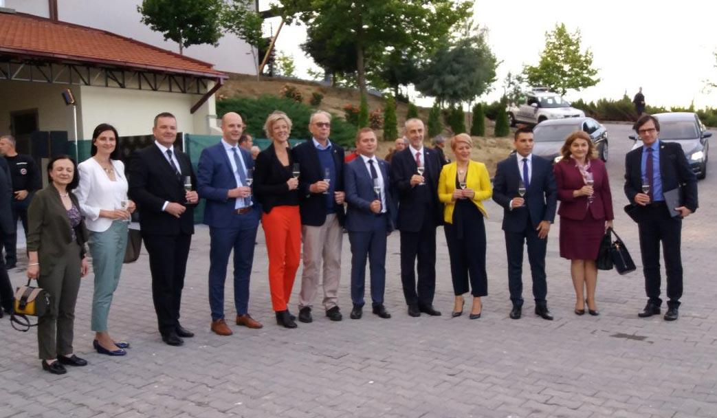 """Азески присуствуваше на отварањето на """"Puklavec Family Wines"""""""