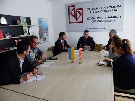 Претставници на Здружението  на трговијата  и Здружението  на земјоделството и прехранбената индустрија на средба со украинска компанија  -  НАЈАВЕНА  ИЗГРАДБА И ОТВОРАЊЕ ЖИВИНАРСКИ ФАРМИ И КЛАНИЦА ЗА ПРОИЗВОДСТВО НА ПИЛЕШКО МЕСО ВО ЗЕМЈАВА