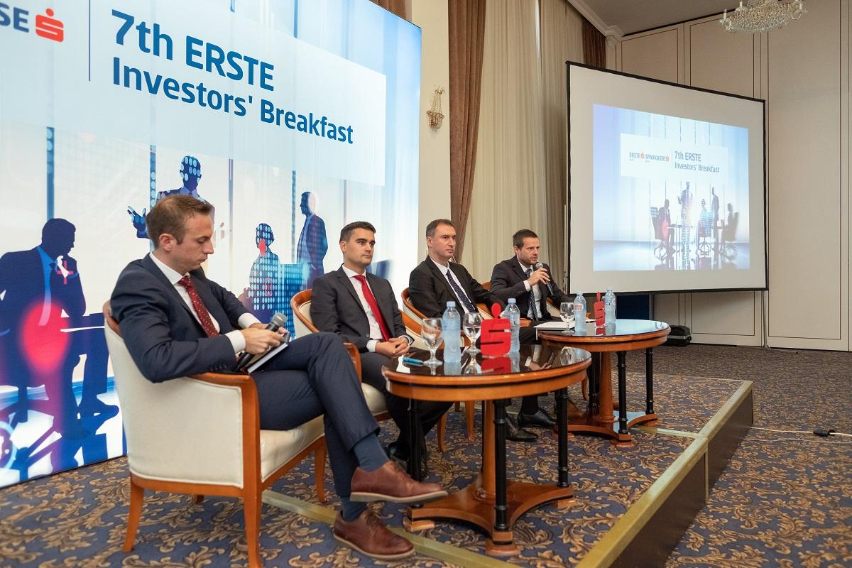 """""""Erste Investors' Breakfast"""" Седма конференција во организација на Ерсте Банка и Шпаркасе Банка Мак"""