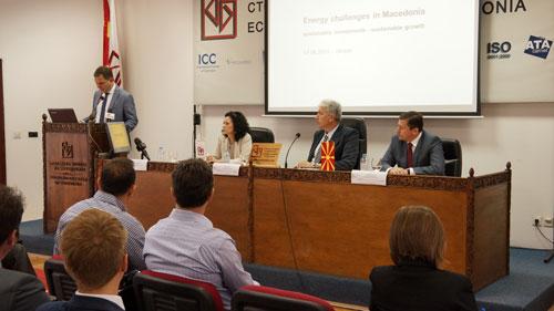 """Здружението на енергетиката расправаше за """"Енергетските предизвици на Република Македонија"""" - КЛУЧНО Е ОБЕЗБЕДУВАЊЕТО НА ОДРЖЛИВ ЕНЕРГЕТСКИ РАЗВОЈ"""