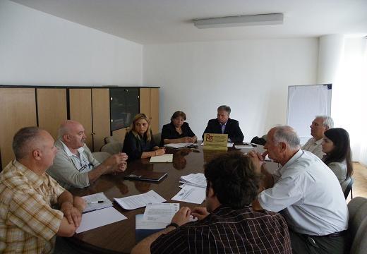 Работен состанок на Здружението на градежништвото, индустријата на градежни материјали и неметалите и Биротo за јавни набавки - РАСПРАВА ЗА МОДЕЛОТ НА ДОГОВОРОТ ЗА ЈАВНА НАБАВКА ЗА РАБОТА