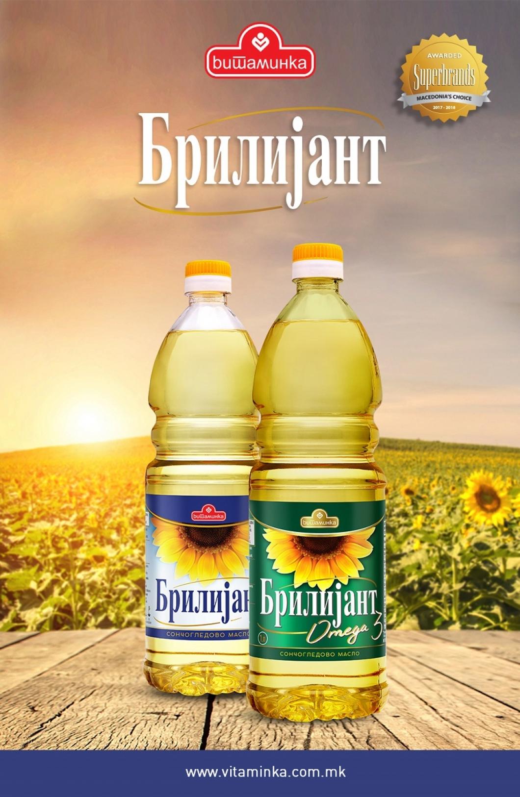 Брилијант омега 3 извор на есенцијалните масни киселини
