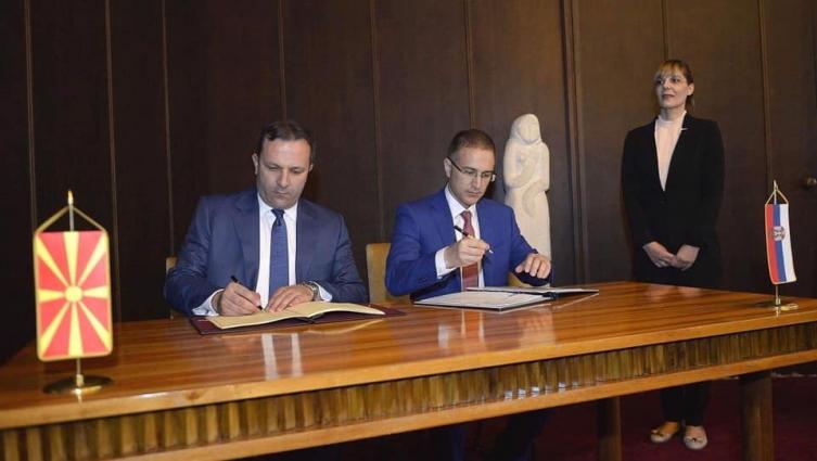 МАКЕДОНИЈА И СРБИЈА ЌЕ ИМААТ ЗАЕДНИЧКА КОНТРОЛА НА ГРАНИЧНИОТ ПРЕМИН ТАБАНОВЦЕ-ПРЕШЕВО